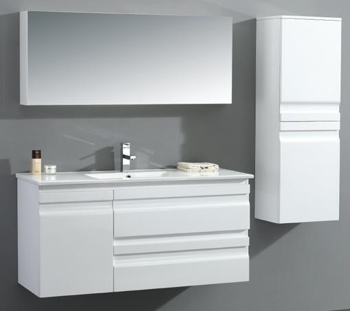 עדכון מעודכן ארונות אמבטיה תלויים KW-18